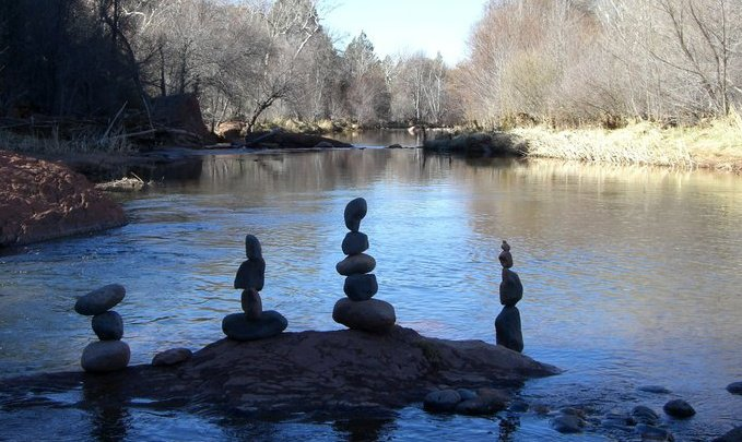 Cairns in Oak Creek 2