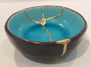 Kintsugi bowl I