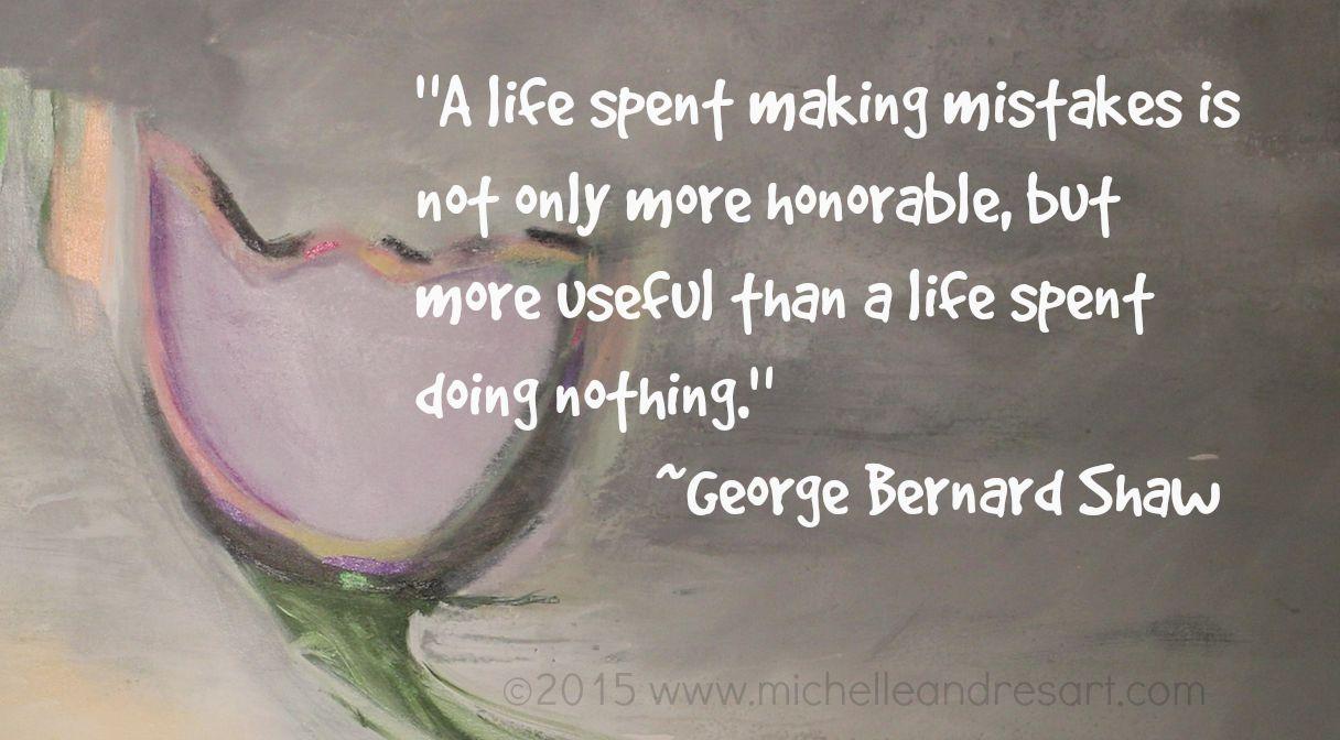 Geroge Bernard Shaw Art Quote