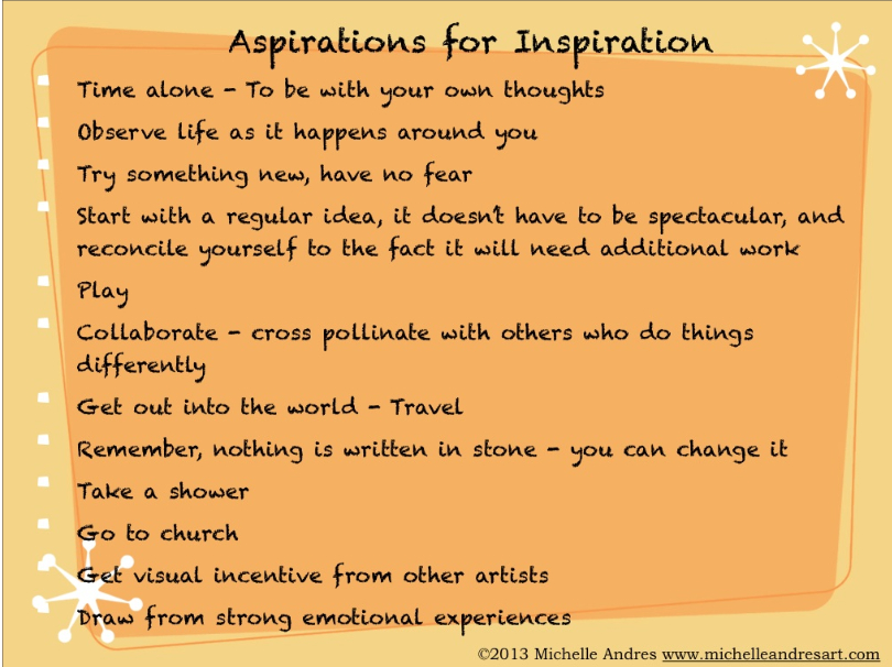 Inspiration graphic