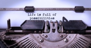 Life is full of possibilities on Typewriter