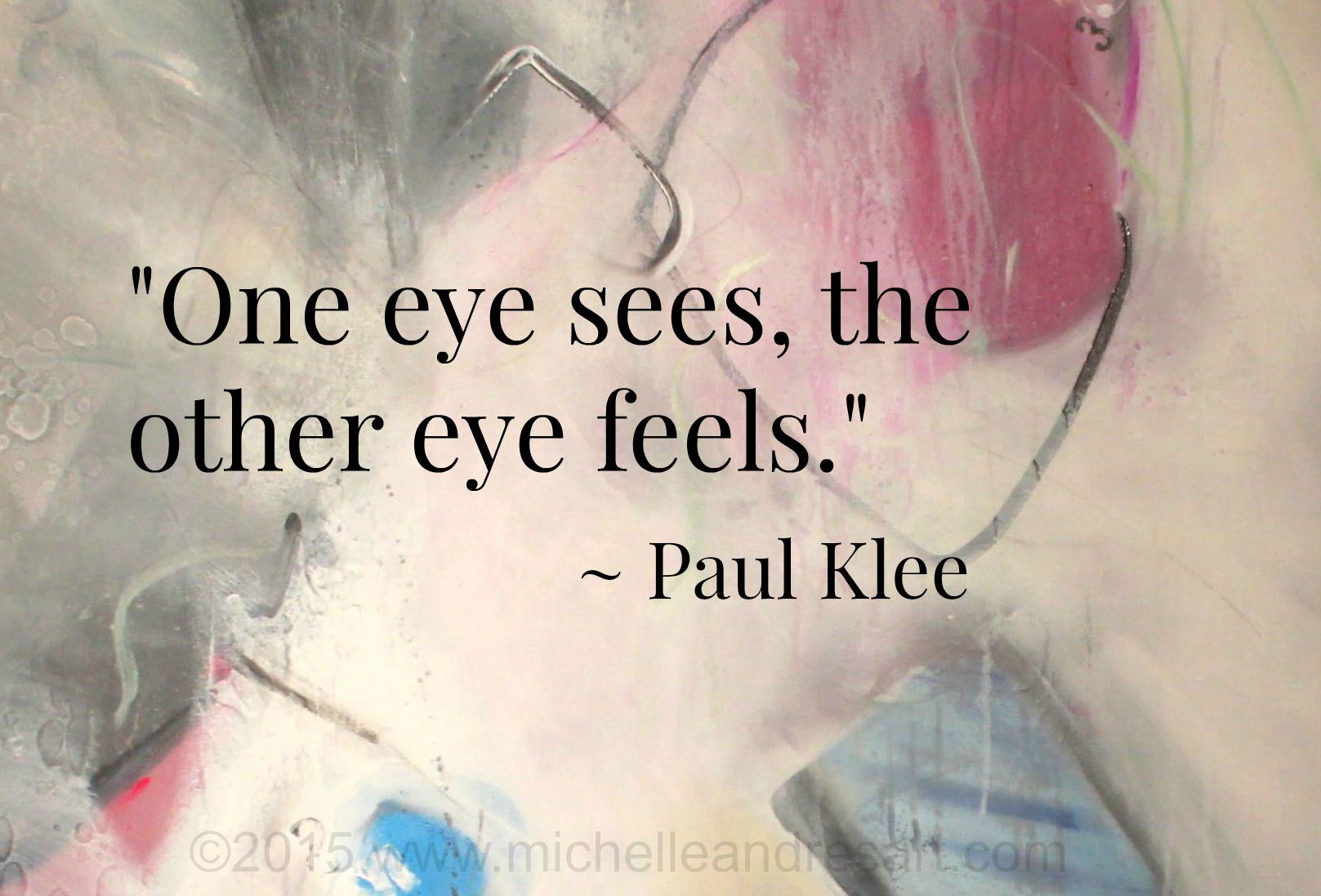Klee Art Quote